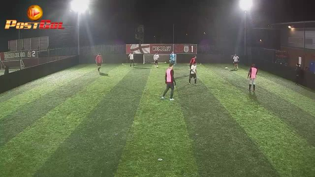 Haydons Road vs Murphy FC (good through pass)