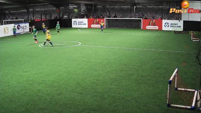 goal saving tackle