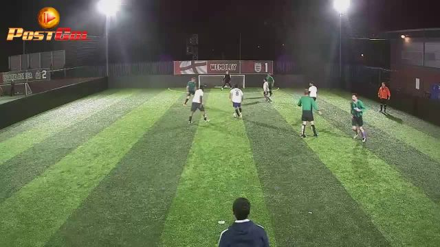 Haydons Road vs FC Wolf - Good reverse pass