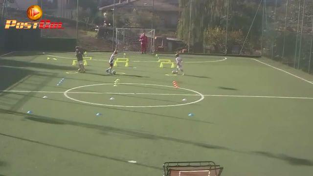 Giornata di lavoro al Playground football academy