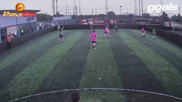 Powerful Half Volley